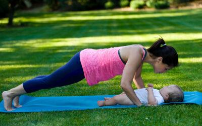 #24: Vores træningsprogram til en nybagt mor to uger efter fødslen